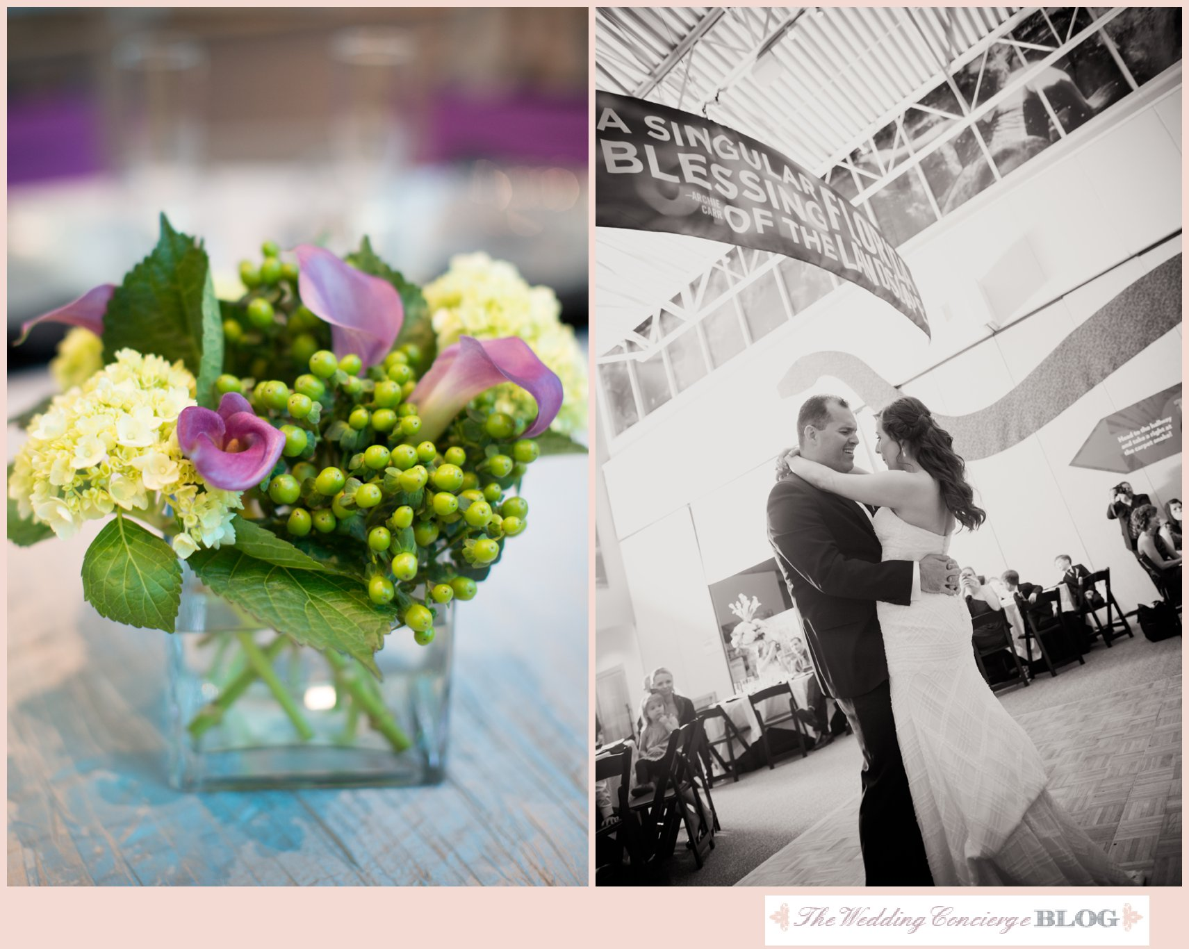 Real wedding featured on wedding concierge blog blog for Accent styling salon gainesville
