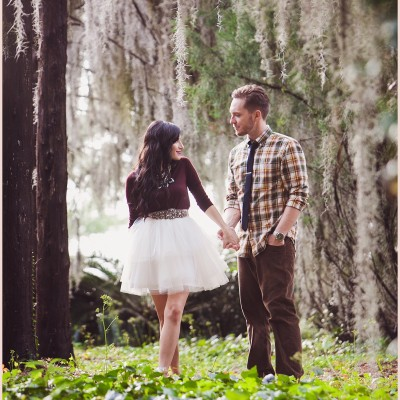 Josie + Alex – The Magic of Love Engagement Shoot – Jacksonville, Florida
