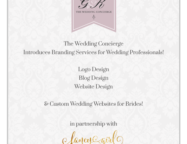 Now Offering Business Branding & Custom Wedding Websites!