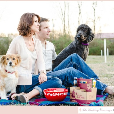 Drive-In Movie Theatre Engagement – Maryville, TN