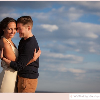 Romantic Duxbury Beach Engagement