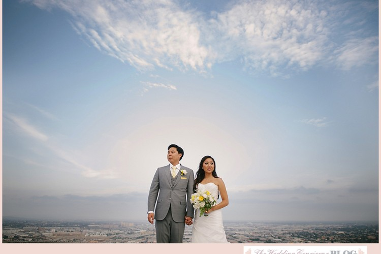 AT&T Center Rooftop Wedding – L.A.