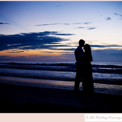 Sunrise Beach Engagement by J'adore Studios