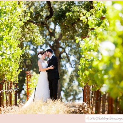 Lush California Vineyard Wedding