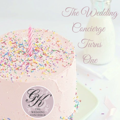 The Wedding Concierge Turns One!