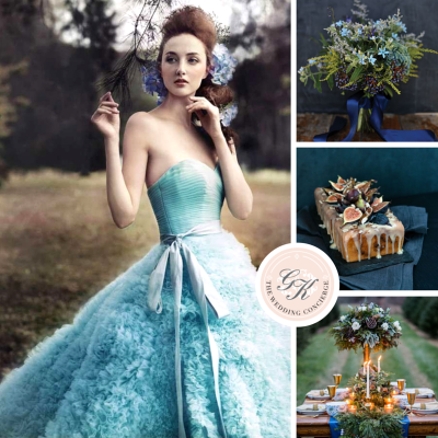 Winter Blue Wedding Inspiration