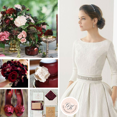 Pantone 2015 Color of The Year: Marsala Wedding Inspiration