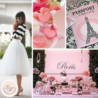 Paris Bridal Shower Inspiration Board
