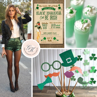 St. Patrick's Day Bachelorette Party Inspiration