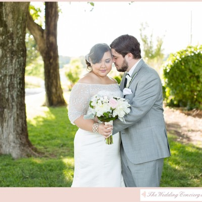 Pink & Green Manor Wedding – Bristow, Virginia