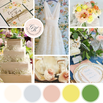 Southern Elegance Wedding Inspiration Board