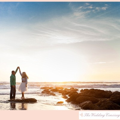 Intimate Sunset Engagement – Morgan & Beau