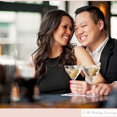 Sexy Cocktail Engagement