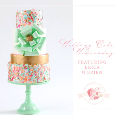 Wedding Cake Wednesday Featuring Erica O'Brien