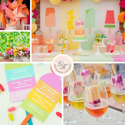 Summer Fun Bridal Shower Inspiration