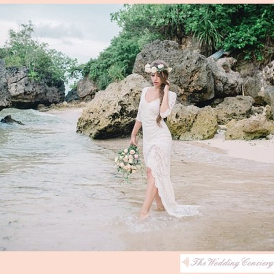 Bohemian Bridal Shoot in Bali