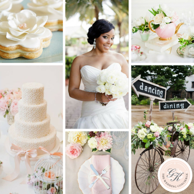 Charming Garden Wedding Inspiration