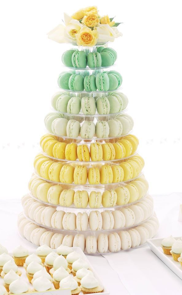 Wedding Cake Wednesday - Macaron Cakes