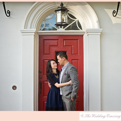 Peachtree House Engagement | Tammy & Huy