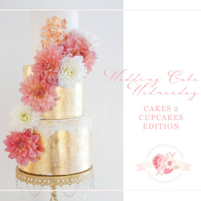 Wedding Cake Wednesday – Cakes 2 Cupcakes Edition