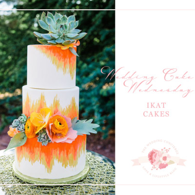 Wedding Cake Wednesday – Ikat Cakes