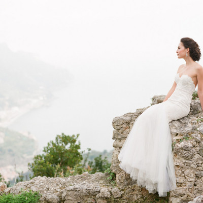 Vintage Styled Italian Wedding Shoot in Amalfi