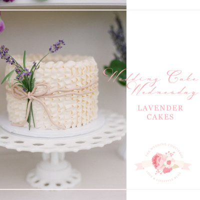 Wedding Cake Wednesday – Lavender Cakes