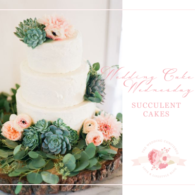 Wedding Cake Wednesday – Succulent Cakes
