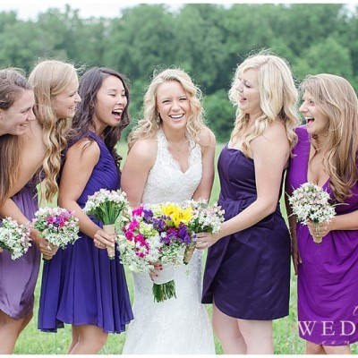 Colorful Vineyard Wedding in Virginia