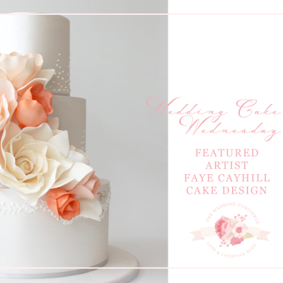 Wedding Cake Wednesday | Featuring Faye Cahill Cake Design