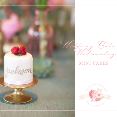 Wedding Cake Wednesday | Mini Cakes