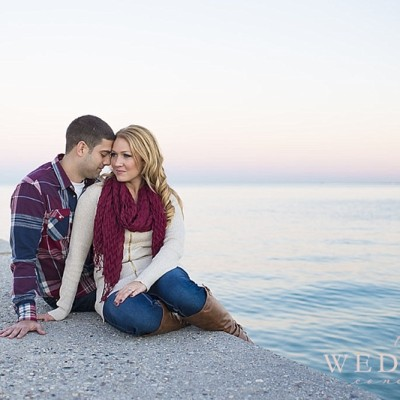 Beautiful Chicago Skyline Engagement | Gina & Dan