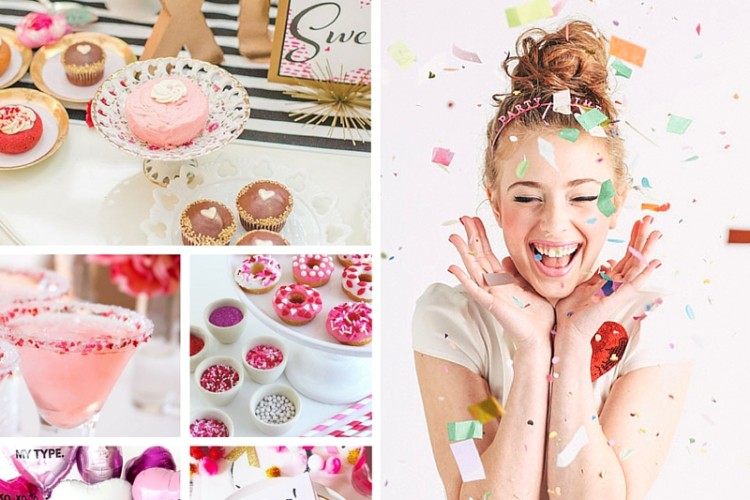 Gal-entine's Day Party Inspiration