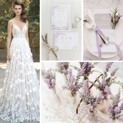 Wedding Theme Wednesday – Blossoming Lavender