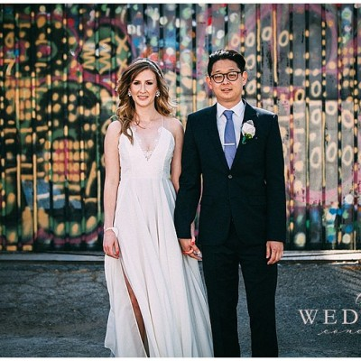 Urban Chic LA Wedding