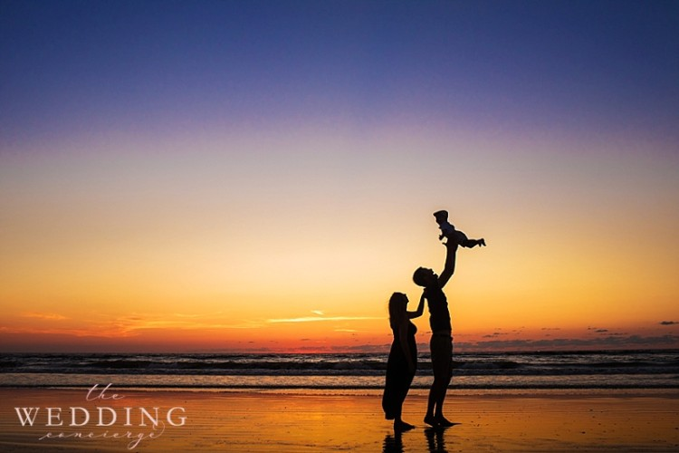 Our Beach Sunrise Family Session by J'adore Studios