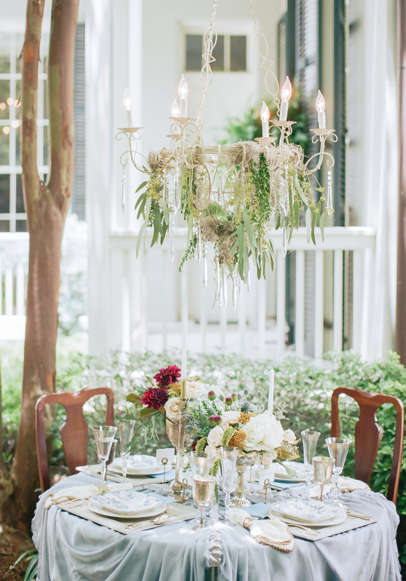Enchanted Blue Styled Shoot