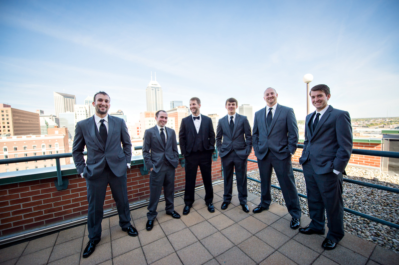 Elegant Affair in Downtown Indy