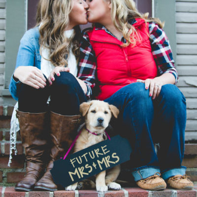 Fall in Love Engagement