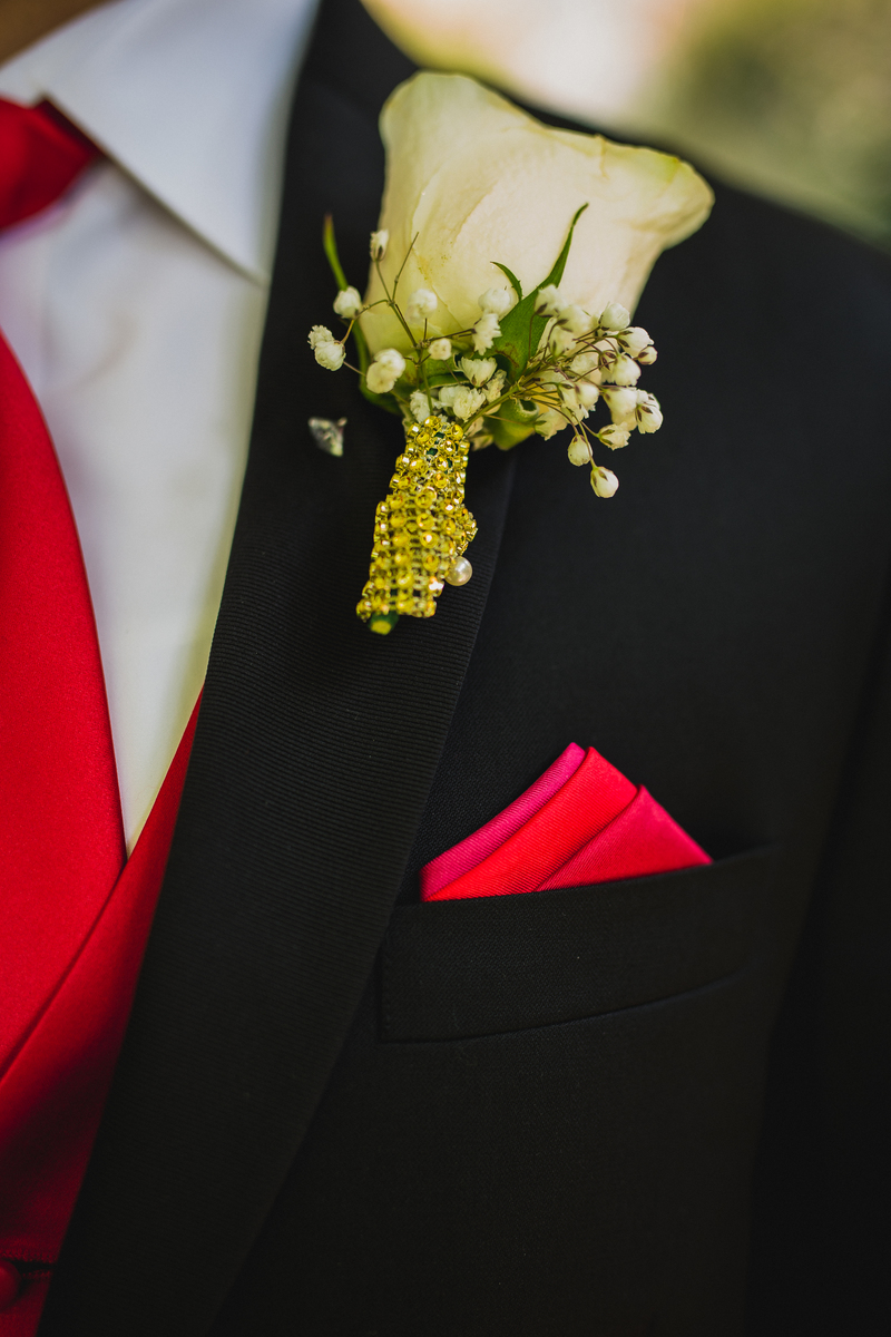 Romantic Red Wedding