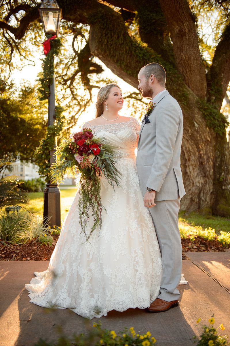 Christmas Plantation Wedding