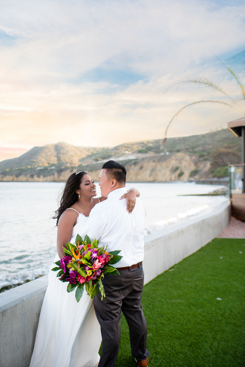 Seaside San Diego Wedding
