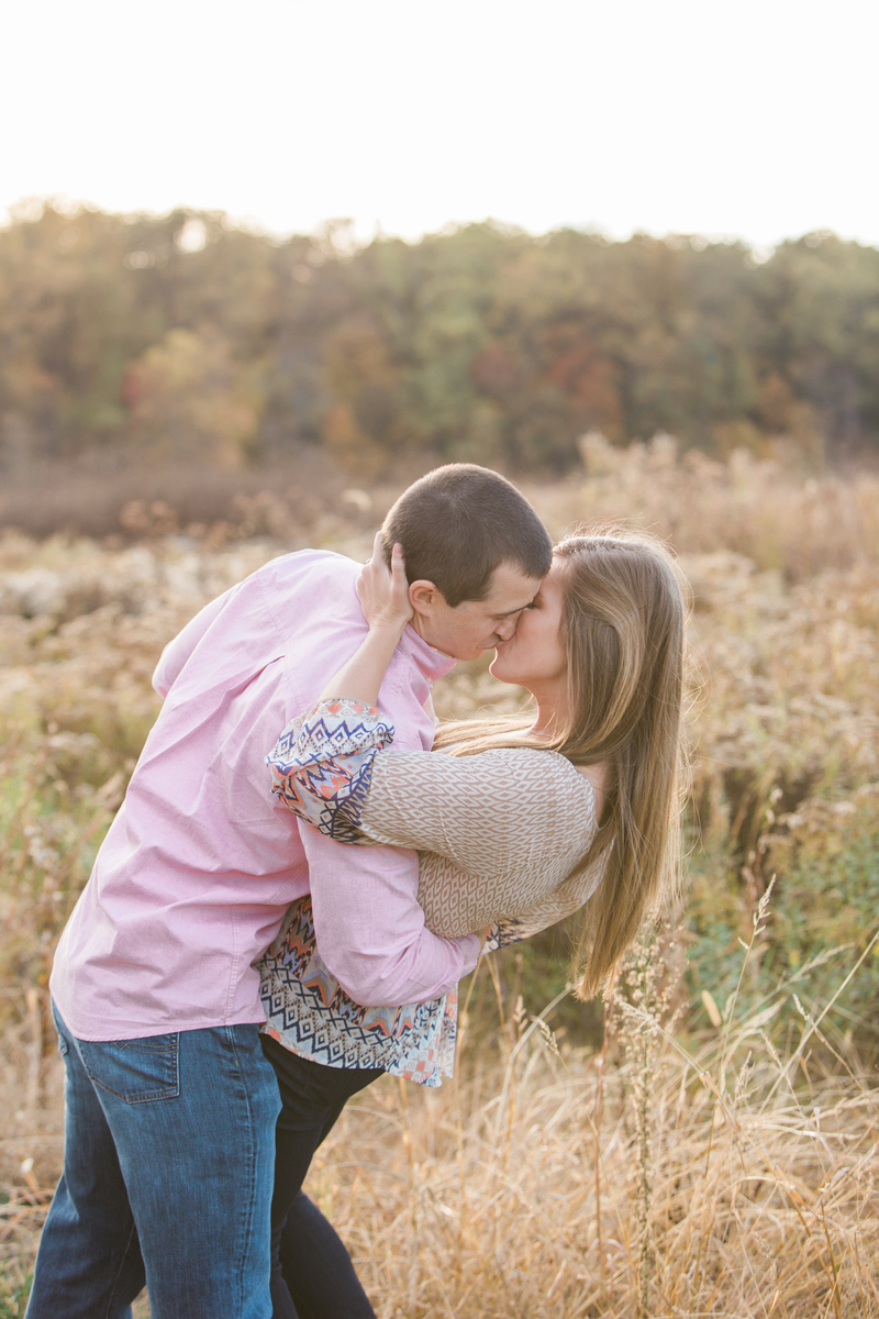 Farmhouse Fall Engagement