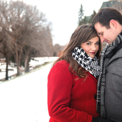 Winter Wonderland Engagement