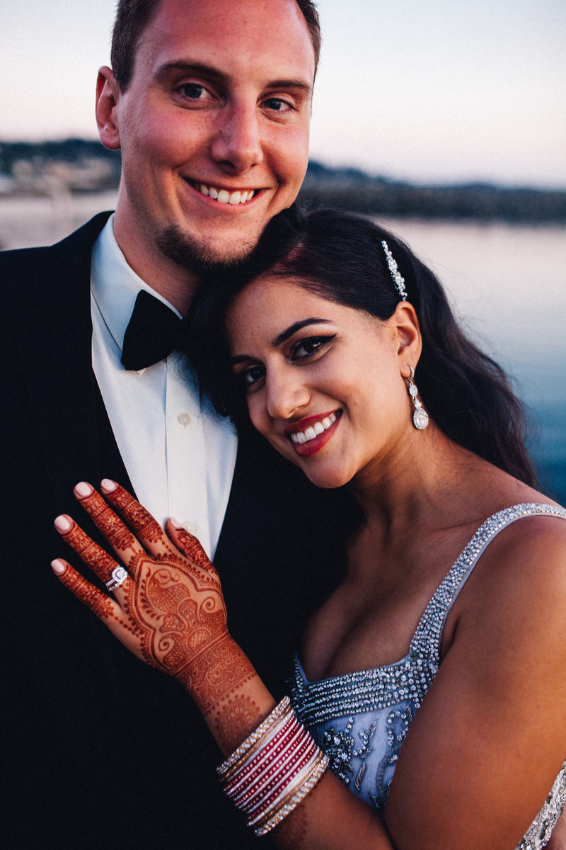 Multicultural Bond-Themed Marriage