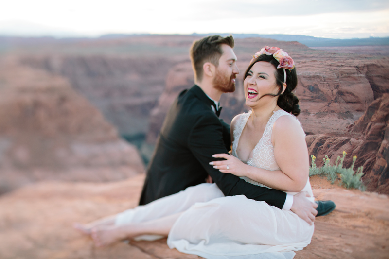 Grand Canyon Engagement