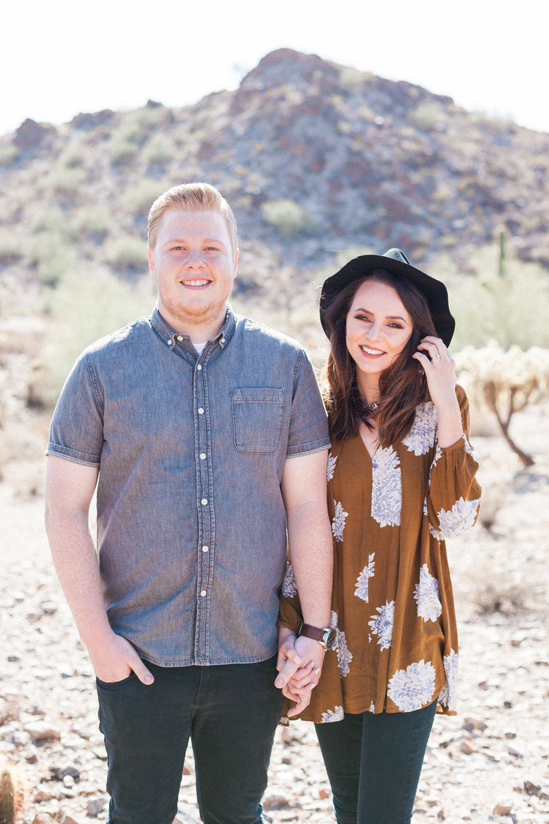 Desert Beauty Engagement