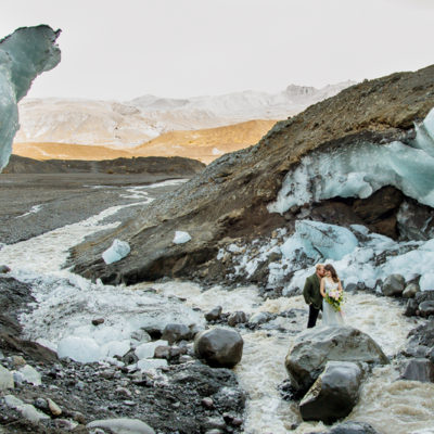 Iceland Ice Cave Elopement