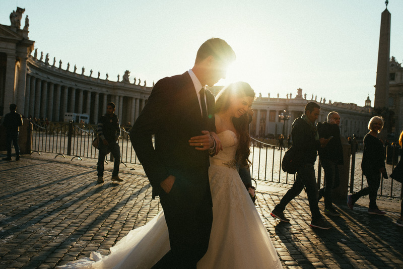 Romantic Rome Marriage