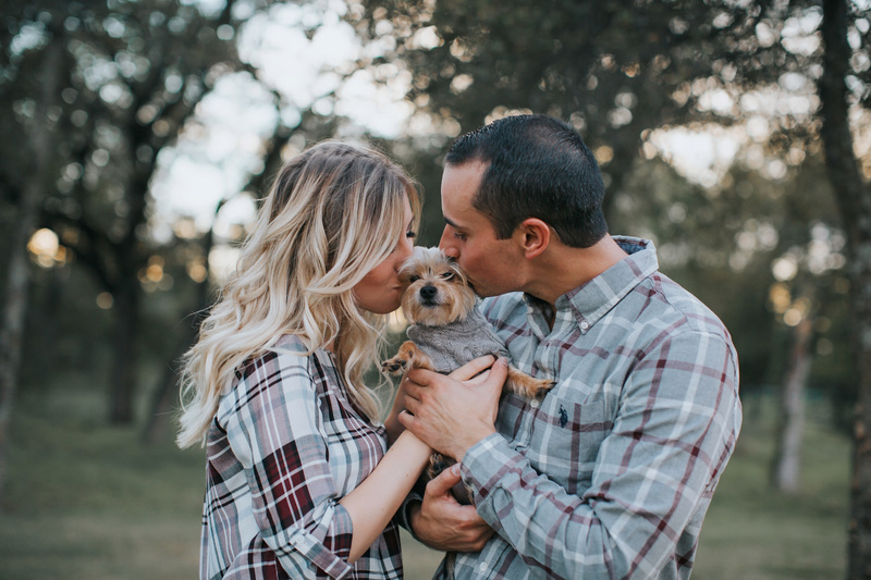 Plaid Picnic Engagement